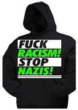 FCK NZS kapu Pullover Anti Nazi Oi GNWP Punk AFA Gegen Nazis fuck 1 HC Skin Ska