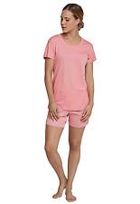 SCHIESSER Pyjama court dames 1/4-bras Taille 38-48 M-4XL Costume de pyjama court