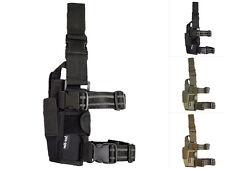 Mil-Tec Beinholster Cordura Verstellbar für Rechtshänder Pistolenholster Holster