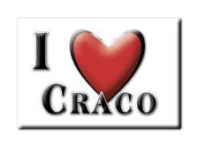 CALAMITA BASILICATA ITALIA FRIDGE MAGNET MAGNETE SOUVENIR I LOVE CRACO (MT)