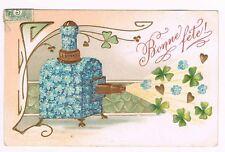 Carte Postale LANTERNE MAGIQUE Bonne Fête / magic lantern