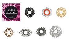 """L' originale anello AFFARE chakra disco """"World of TALISMANO"""" 925er Argento Sterling"""