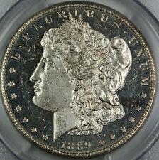 1889-CC PCGS MS-62 DMPL $1 Morgan Silver Dollar, Key Carson City Coin, Better++