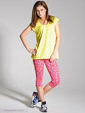 Asics - Womayns AYAMI Hooded Running Tunic Top - Yellow Various Sizes