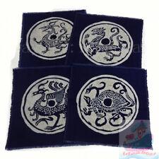 China Art Decor Wall Hanging Batik Tapestry Kerchief-the gods in 4 orientations