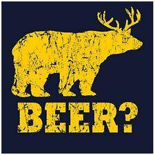 BEER BEAR T-SHIRT It's Always Sunny Funny Mens Brewing Beer Kit Bear T-SHIRT
