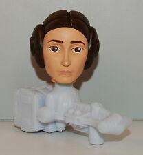 2008 Princess Leia #12 Bobble Head Toy McDonald's Star Wars Clone Bobblehead