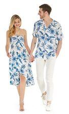 Hawaii Hangover Couple Matching Hawaiian Luau Cruise Day Dream Bloom White