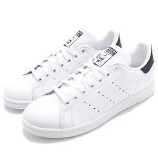 finest selection 4b0b7 f1046 Adidas Originals Stan Azul Marino Hombres Mujeres Informal Blanca Smith  Zapatos Tenis M20325