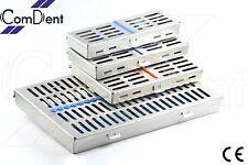 Sterilization Cassette Rack Tray Hold 5 7 10 20 DENTAL INSTRUMENTS AUTOCLAVE CE