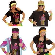 SCHWEIßBÄNDER 80er Jahre Stirnband  pink, gelb, neon orange, grün, multicolor