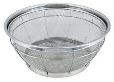 Stainless Steel Re-enforced Fine Mesh Colander Strainer Basket Sieve