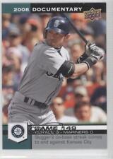 2008 Upper Deck Documentary #4513 Ichiro Seattle Mariners Suzuki Baseball Card