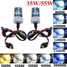 2Pcs 35W 55W Xenon HID Replacement Light Bulbs H1 H3 H7 H11 880 9005 9006