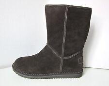 Fellstiefel Stiefel Boots warm Lammfell braun mocca 38 Tamaris brown lambskin