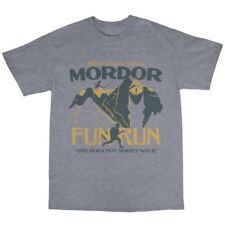 Mordor Middle Earth Fun Run T-Shirt Cotton Tolkien