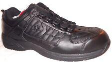 New CONVERSE Sure Grip Athletic Black Leather Oxfords Sneakers Men's C1100-1
