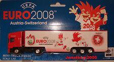 UEFA EURO 2008 AUSTRIA SWITZERLAND SCANIA SEMI REMORQUE au 1/87°