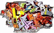 Kunst Graffiti Kunstwerk Wandtattoo Wandsticker Wandaufkleber C1265