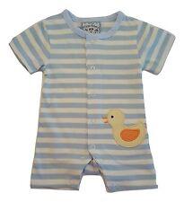 Baby Boys One-Piece Romper Playsuit - Duck Design - Choose Infant Sizes