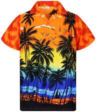 288ab4b0 Men's Beach, Palm Tree Button Down Hawaiian Casual Shirts & Tops for ...