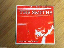 The Smiths Louder than Bombs sticker decal bumper window Marr Rourke Moz Joyce