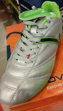 scarpe calcio givova goal argento verde uomo ragazzo numeri 42 43 44 45 scarpa