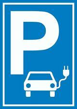 Parkplatz Elektrofahrzeug Schild