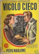 GIALLO MONDADORI  129-PIERS MARLOWE-VICOLO CIECO-1951