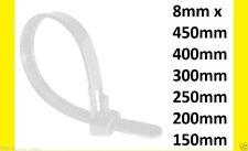 REUSABLE RELEASEABLE CABLE TIES ZIP TIE WRAP 45CM 40CM 30CM 450MM 400MM 300MM