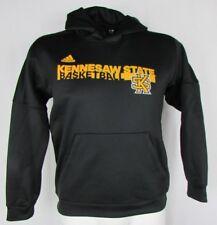 Kennesaw State Owls adidas Climawarm Hoodie Basketball Black NCAA Men's M L XL