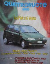 Quattroruote 455 1993 Quanto vale la Punto?Confronto con Fiesta-inserto alleg