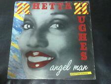 DISCO 45 GIRI RHETTA HUGHES ANGEL MAN DOWNTOWN MIDTOWN