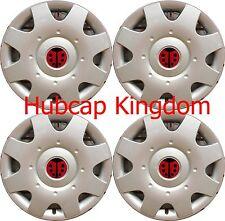 """NEW 1998-2009 VW BEETLE 16"""" Ladybug LADY BUG Hubcaps Wheelcovers SET of 4"""