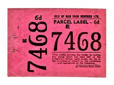 Manx Motors, Manxland & Isle of Man Road Services rare bus paperwork 1927 owards