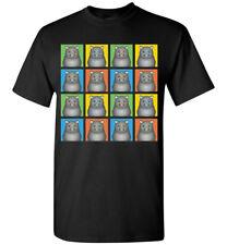 Scottish Fold Cat Cartoon Pop-Art T-Shirt Tee, Men Women's Youth Tank Short Long