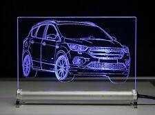 LED Leuchtschild graviert ist  Ford Kuga Facelift 2017 SUV Sport Utility Vehicle