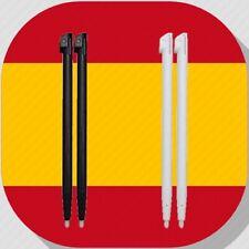 x2 Lapiz/lápiz tactiles para Nintendo Wii-U Wii U touch stylus pen gamepad WiiU