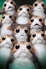 Star Wars - The Last Jedi - EP8 - Many Porgs - Poster Plakat - Größe 61x91,5
