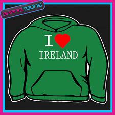 I LOVE HEART IRELAND HOODIE