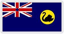 "Australia Western Australia flag sticker 2x4"" bumper decal auto bike tablet pc"