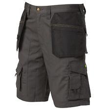 APACHE industriale Workwear Fondina Tasca Vita Bassa Shorts Grigio/Nero apkht