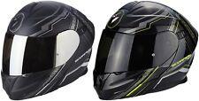 SCORPION exo-920 satélite casco plegable para motocicleta Sistema de con parasol