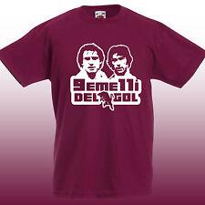 T-shirt TORO Gemelli del gol Pulici e Graziani TORINO CALCIO granata grande toro