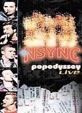 N Sync - PopOdyssey Live (DVD, 2002) 83 minutes Still Sealed