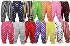 Childs Polka Dot Rag Doll Panto Clown Bloomers Kids Fancy Dress