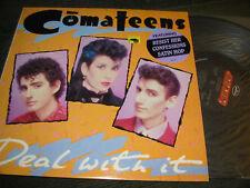 COMATEENS deal with it LP NM promo vinyl mercury '84 rare synth pop orig