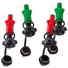 Sicherheits-Einfüllsystem Stutzen Kombi-Kanister Doppelkanister Ausgießer Benzin