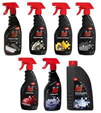 Extreme Clean Autopflege Set Auto Reiniger Felgen Shampoo Wachs Leder Polster