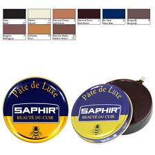 Lucido per Scarpe in Pelle Vari Colori - Pregiatissima Cera Saphir Pate de Luxe